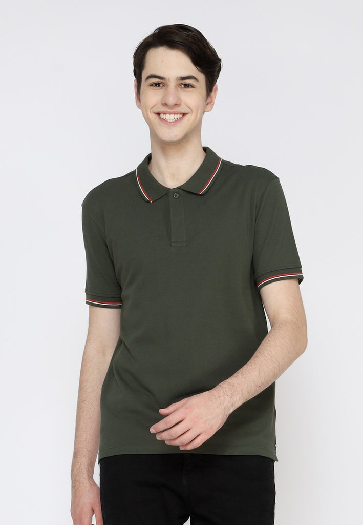 Uniform Classic Polo Shirt W2 In Green