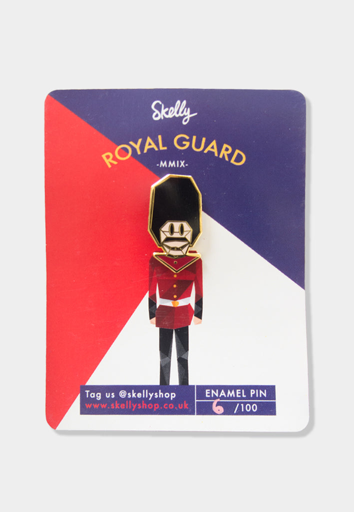 Guard Head Enamel Pin