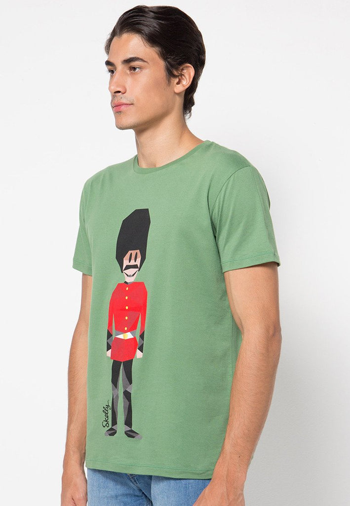 Royal Guard MMIX S Graphic T-shirts In Ivy Green - Skelly Indonesia - The Original Graphic Tees, Comfortable Basic - www.skellyshop.co.uk