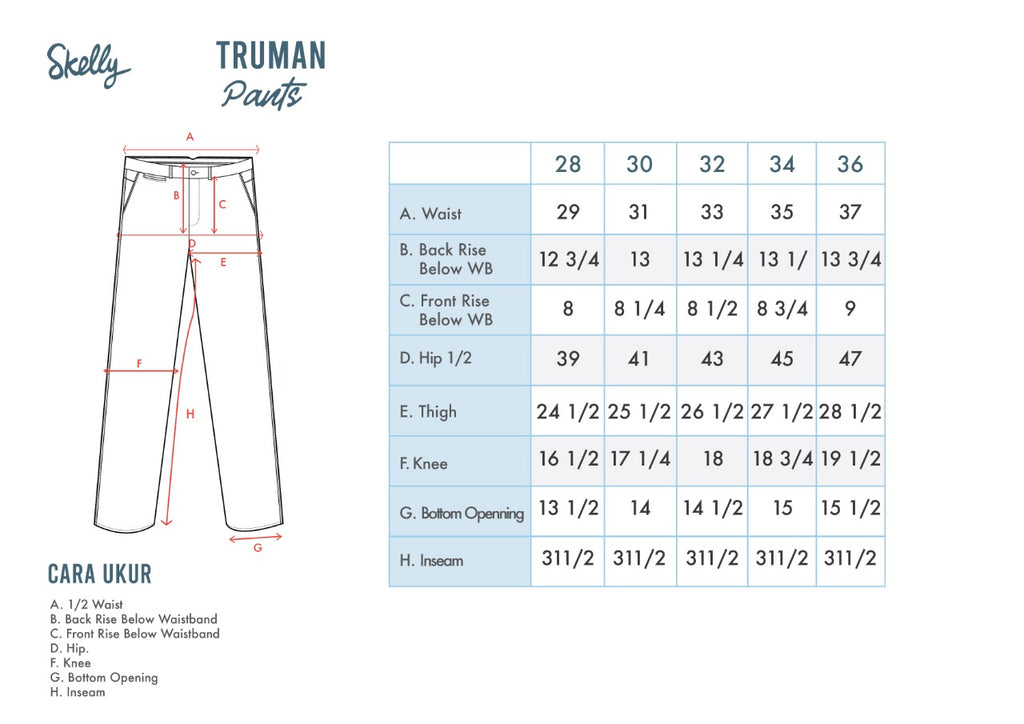 Truman Uniform Cotton Twill Long Pants T4 Olive