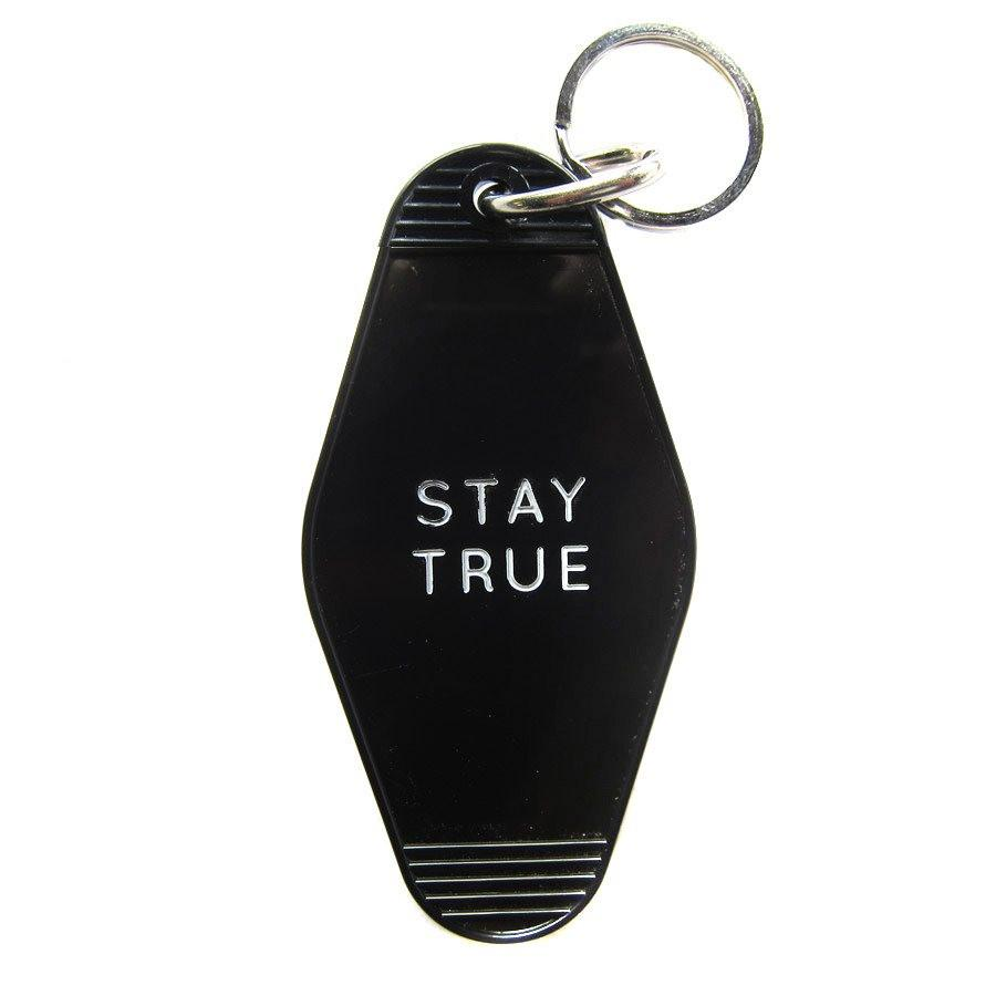 Stay True Motel Keychains - Skelly Indonesia - The Original Graphic Tees, Comfortable Basic - www.skellyshop.co.uk