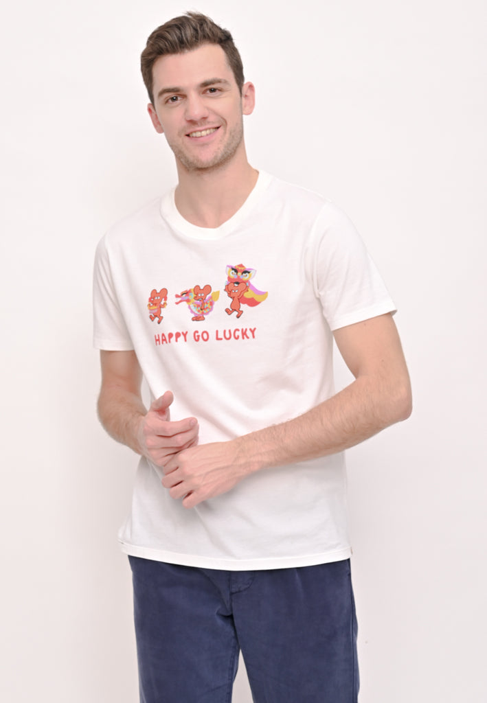Happy Go Lucky Graphic T-Shirt CNY Special