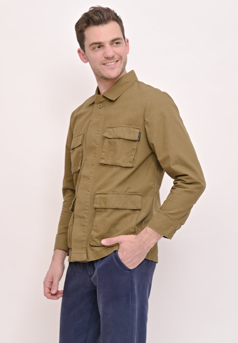 Maxwell Canvas Jacket Olive