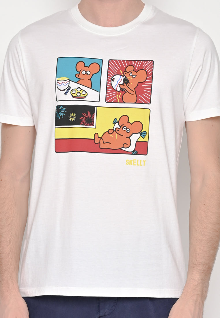 Rat Comic Graphic T-shirt Special