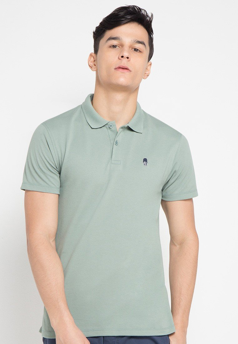 Guardian MMIX A17 Polo Shirts Foggy Grey - Skelly Indonesia - The Original Graphic Tees, Comfortable Basic - www.skellyshop.co.uk