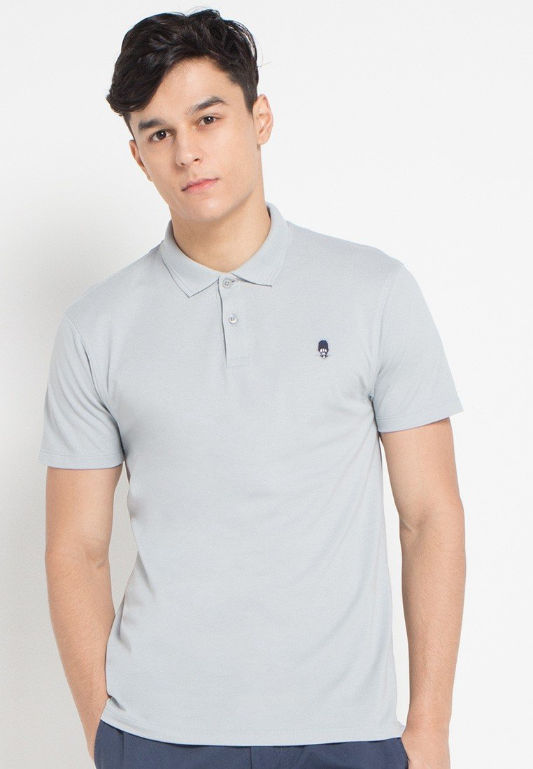 Guardian MMIX A17 Polo Shirts Cool Grey - Skelly Indonesia - The Original Graphic Tees, Comfortable Basic - www.skellyshop.co.uk