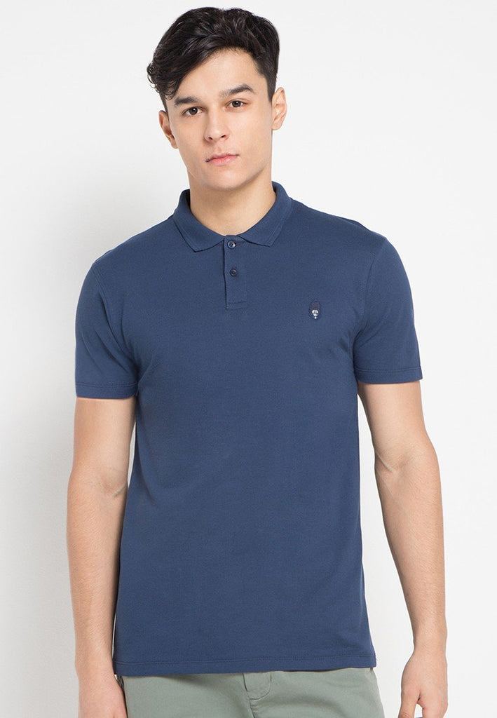 Guardian MMIX A17 Polo Shirts Peony Blue - Skelly Indonesia - The Original Graphic Tees, Comfortable Basic - www.skellyshop.co.uk