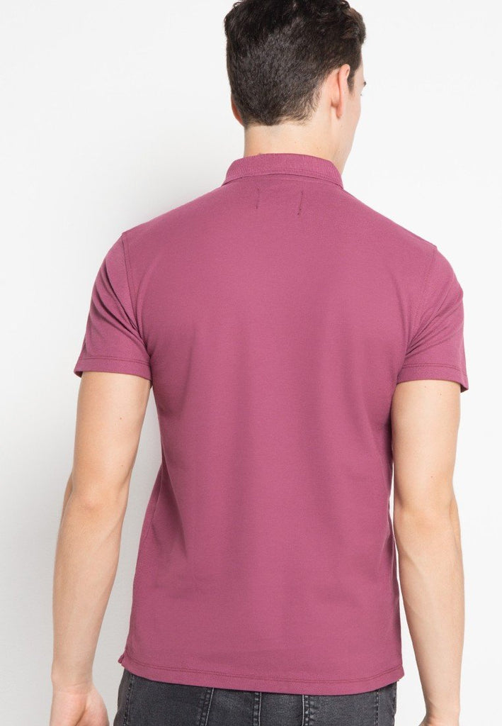 Guardian MMIX Polo Shirts in Purple - Skelly Indonesia - The Original Graphic Tees, Comfortable Basic - www.skellyshop.co.uk