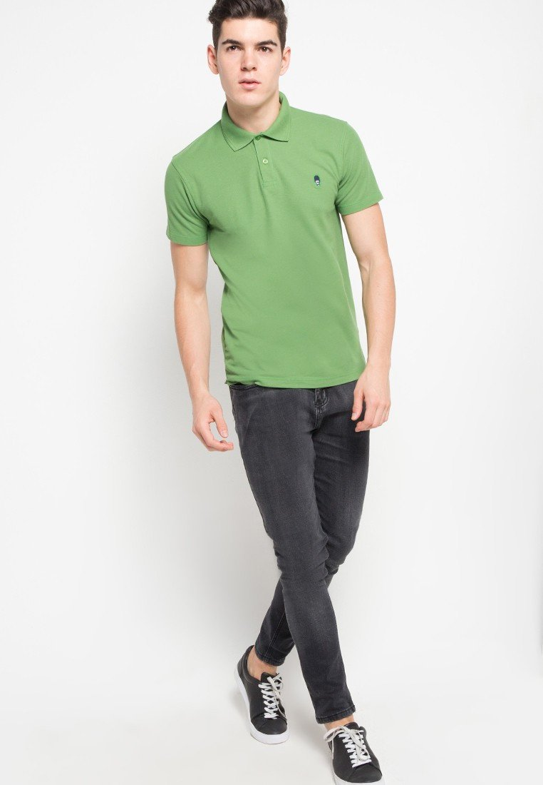 Guardian MMIX Polo Shirts in Green - Skelly Indonesia - The Original Graphic Tees, Comfortable Basic - www.skellyshop.co.uk