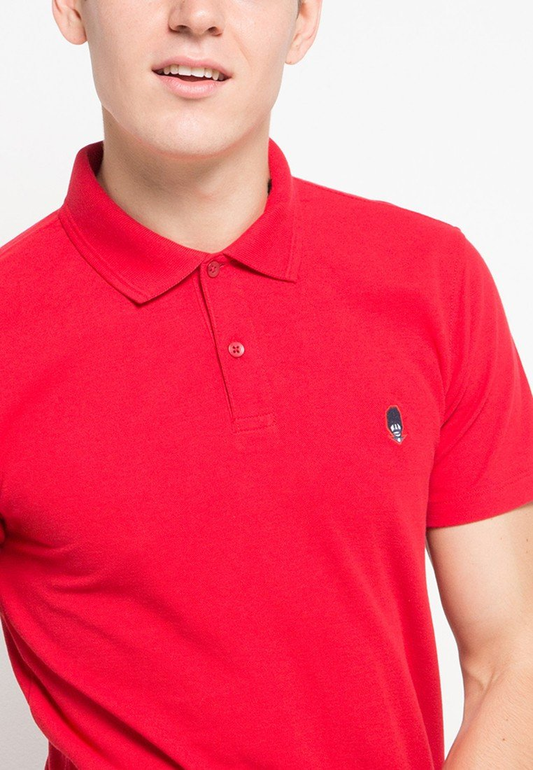 Guardian MMIX Polo Shirts in Redstick - Skelly Indonesia - The Original Graphic Tees, Comfortable Basic - www.skellyshop.co.uk