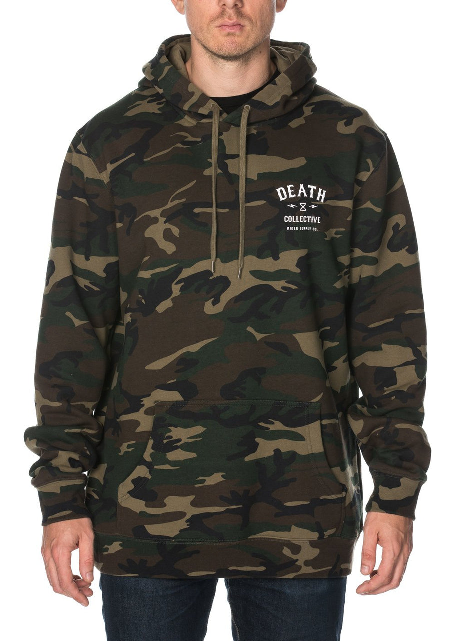 Death Collective Camo Hoodie