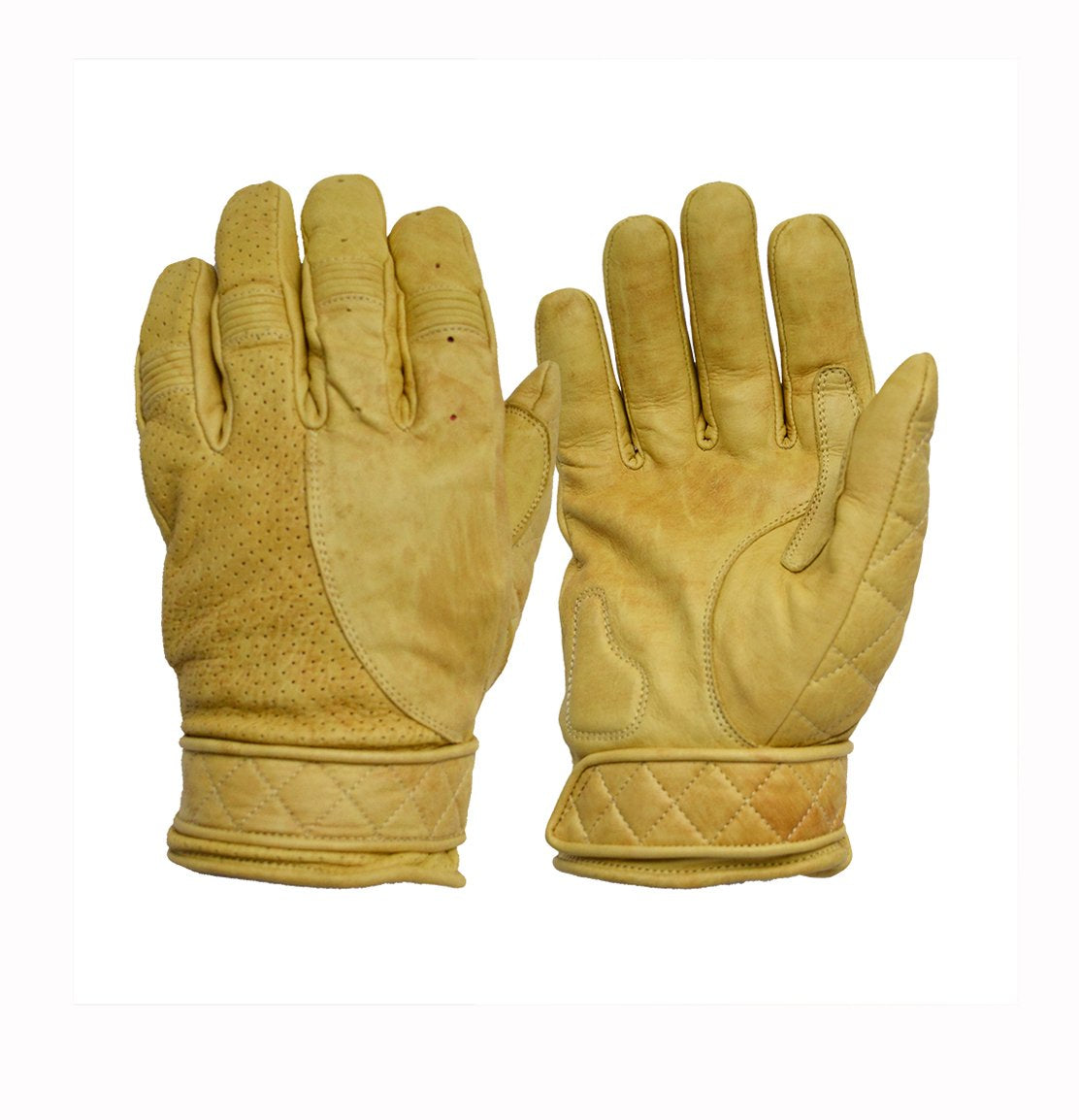 Goldtop England - Short Bobber Gloves Tan