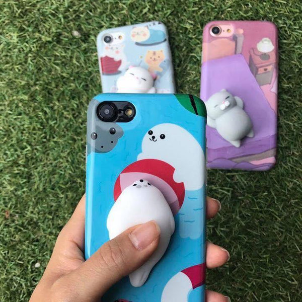 Cute Squishy iPhone Case