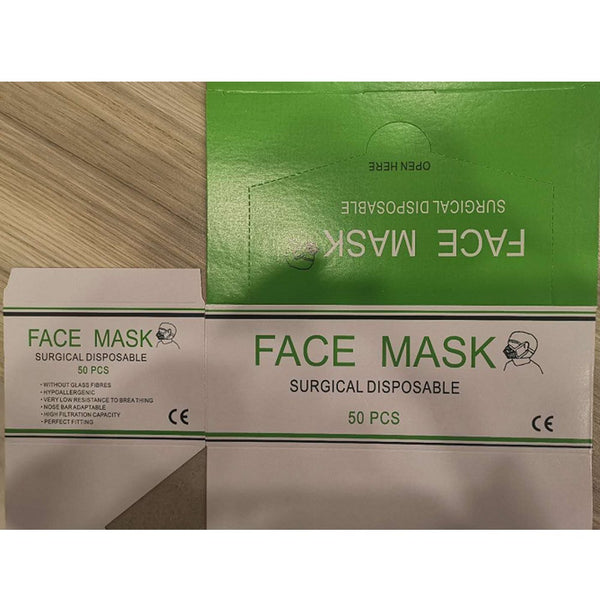 3 PLY Medical Disposable Face Mask (50 pcs)