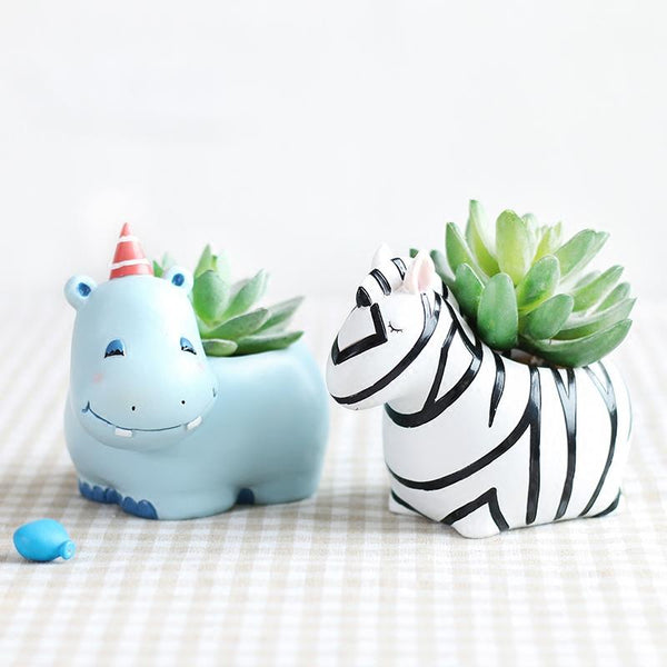 Adorable Pet Succulent Planter