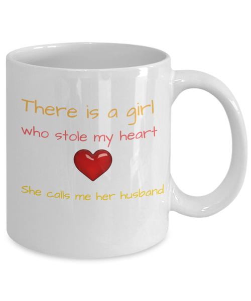 One Lady Stole My Heart - Mug