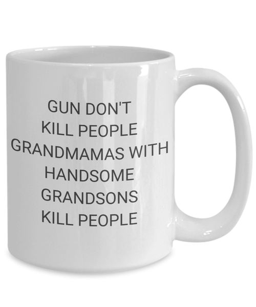 Grandmamas With Handsome Grandsons Coffee Mug