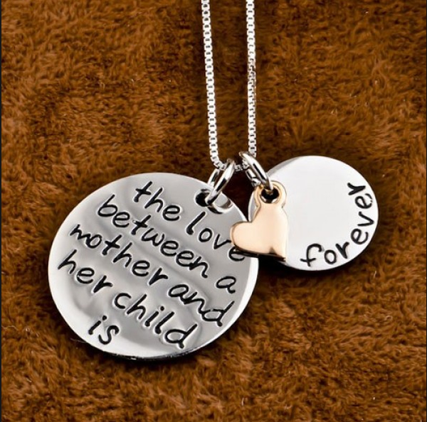 Mother and Child Love Necklace