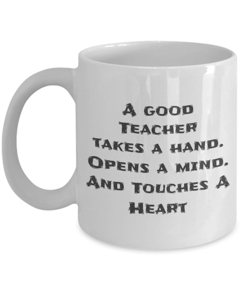 A Good Teacher Mug