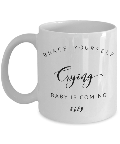 Crying Baby For Dad Coffee Mug