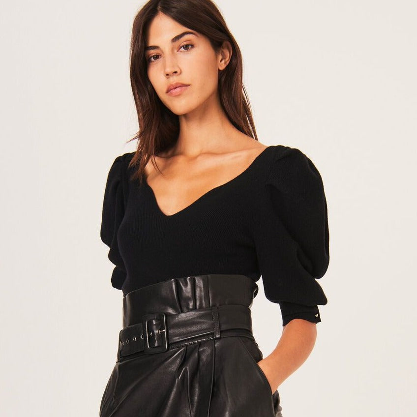 Fidji Leather Skirt