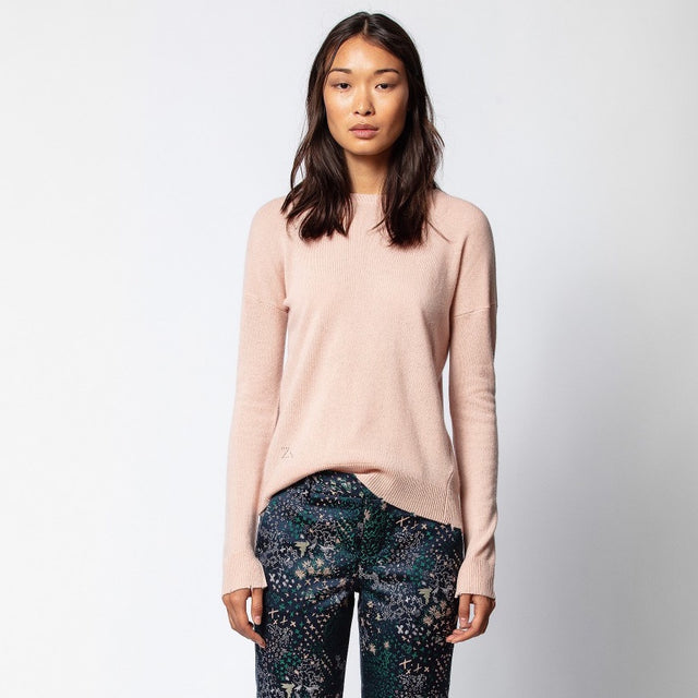 Cici Patch Sweater