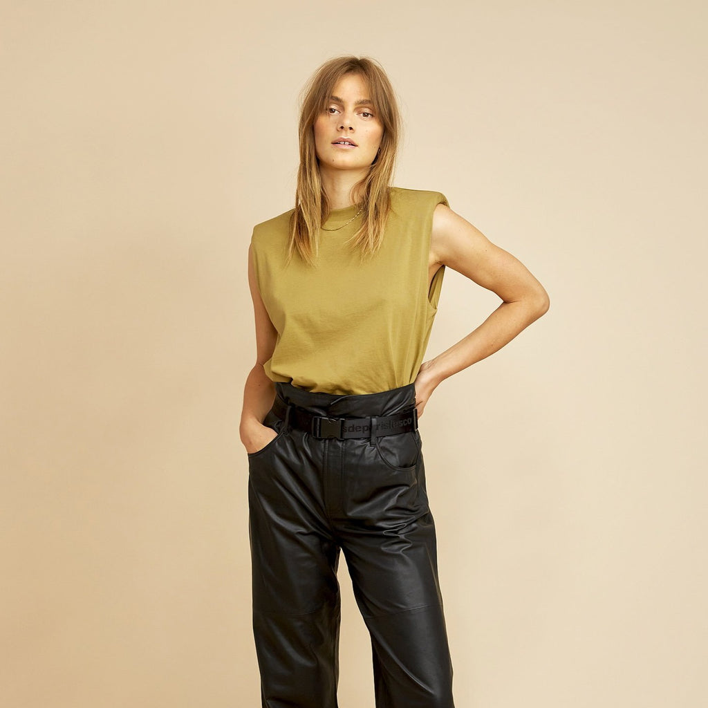 Dawn Leather Pant