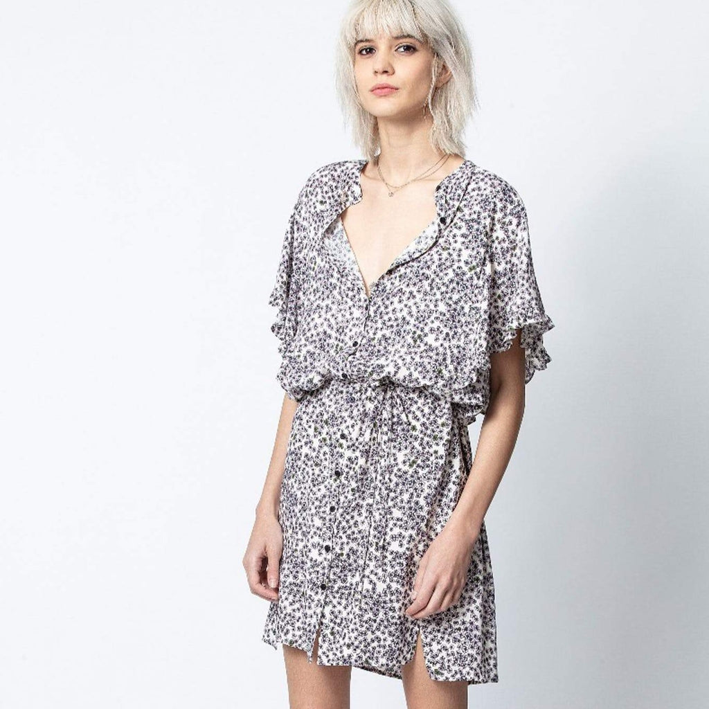 Rafix Print Hortensia Dress