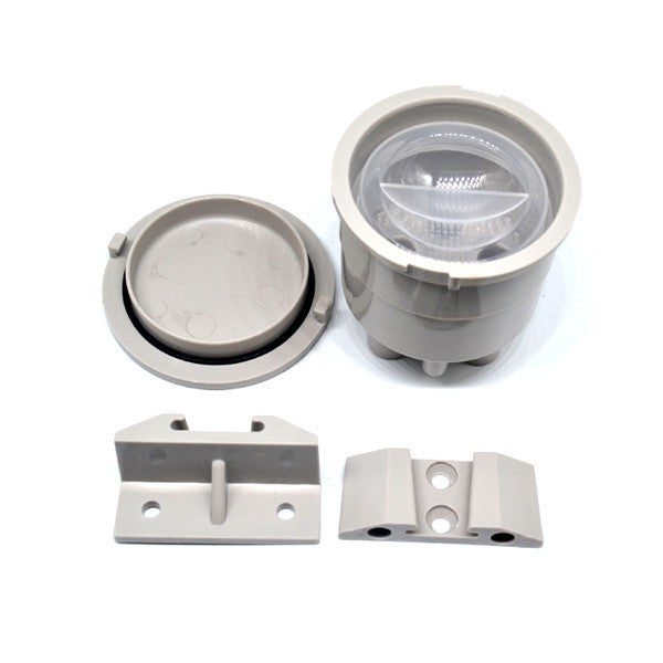 Vacuum Canister Locking Lid, Light Grey