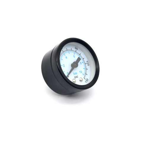 "1-1/2"" Gauge 0-150 PSI, Black"