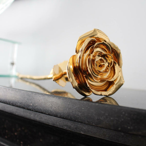 Limited 24k Gold Rose by Stacey Vert