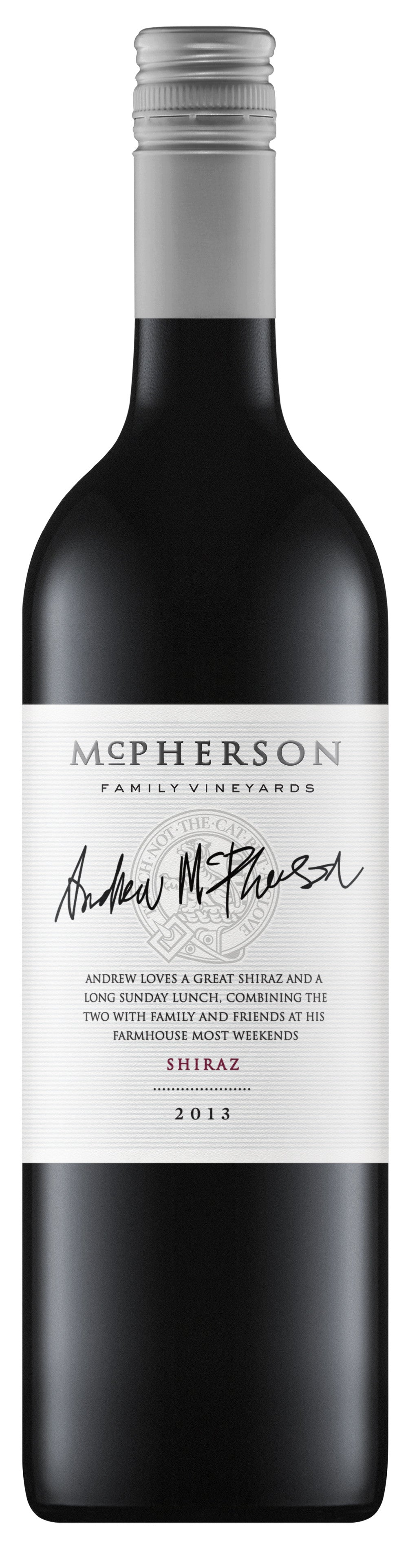 McPherson Shiraz 2015 - Network Wines