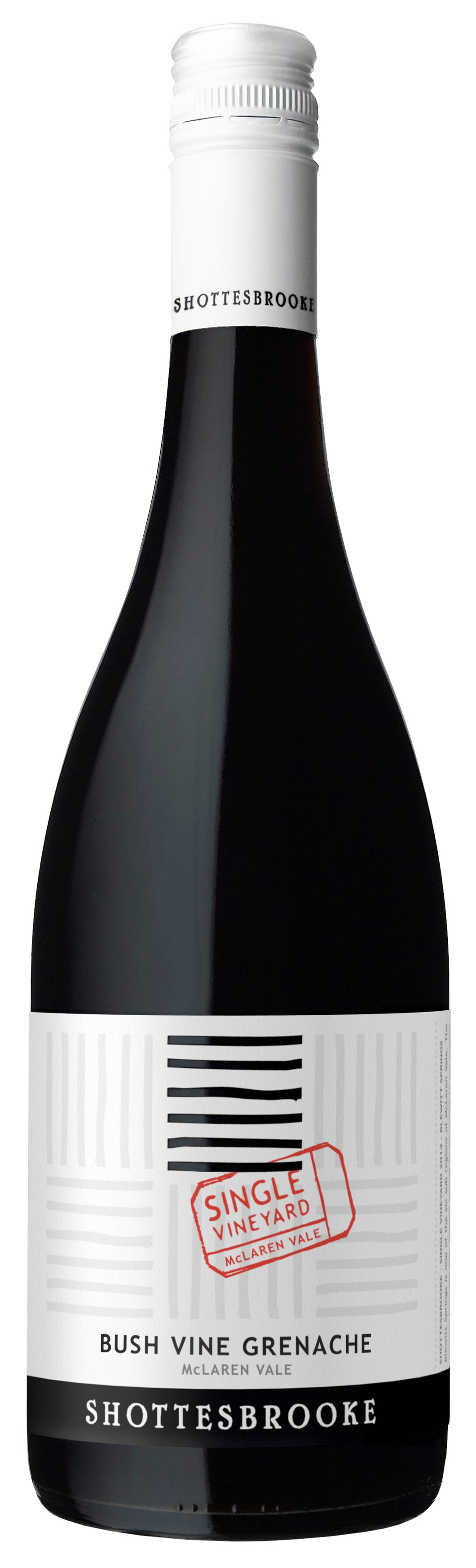 Shottesbrooke Single Vineyard Bush Vine Grenache 2015