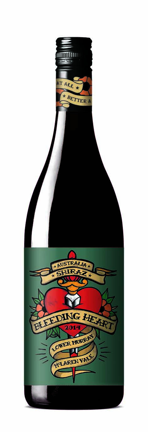 Bleeding Heart Shiraz 2016 - Network Wines