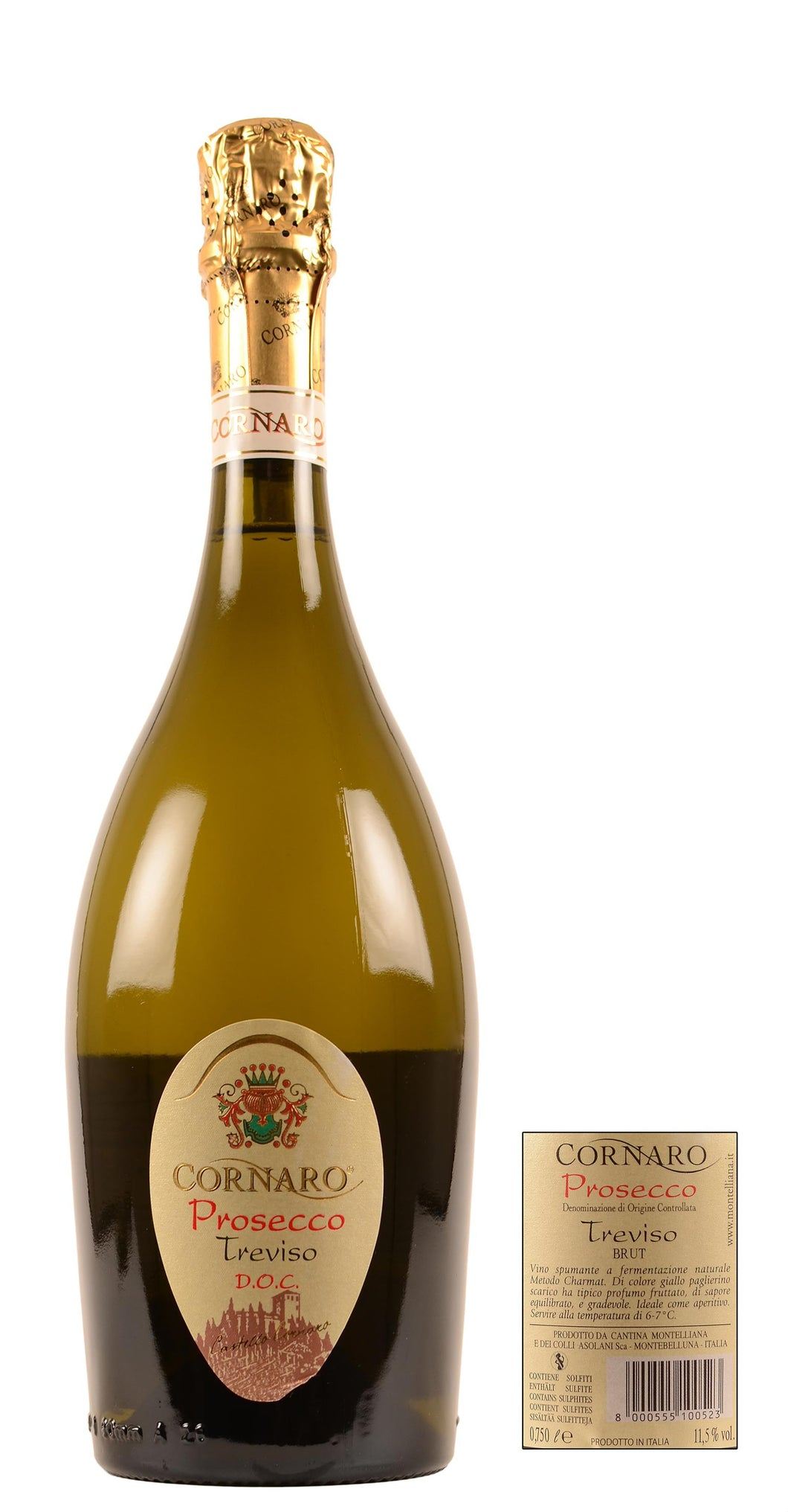 Cornaro Prosecco NV - Network Wines