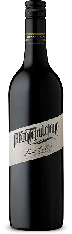 Handcrafted by Geoff Hardy Montepulciano 2016 - Network Wines
