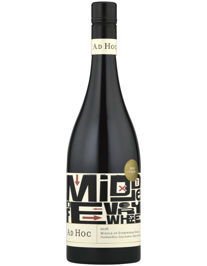 Larry Cherubino Ad Hoc 'Middle of Everywhere' Shiraz 2017 - Network Wines