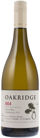Oakridge 864 Drive Block Funder & Diamond Chardonnay 2015 - Network Wines