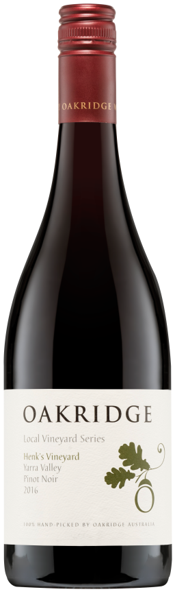 Oakridge LVS  Henk's Vineyard Pinot Noir 2016 - Network Wines