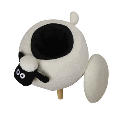 Wooly Sheep Kids Ottoman