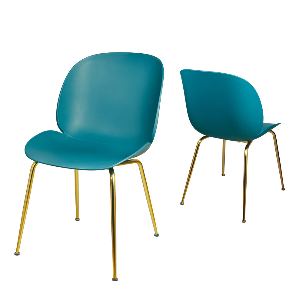 GIA Plastic Green Side Chair