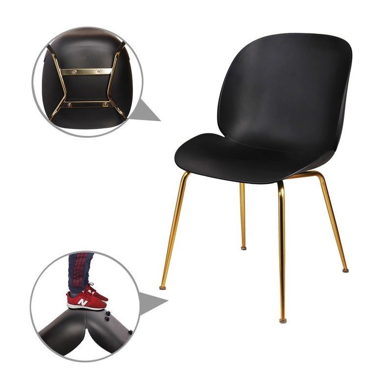 GIA Plastic Side Chairs (4 Pack)
