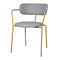 Gray Leather Dining Chair Pack of 2