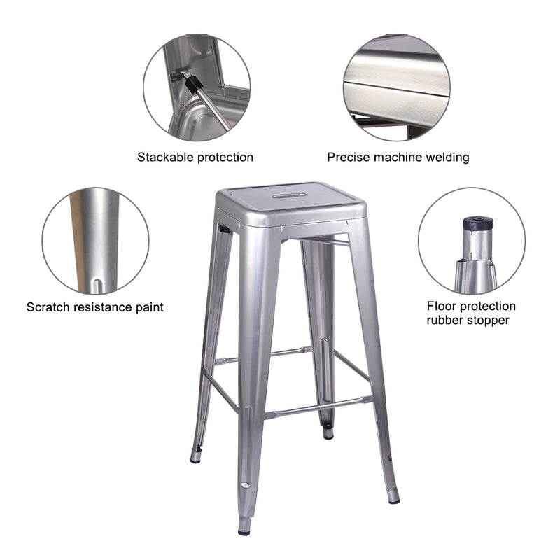 30 Inch Metal Stool
