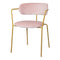Pink Velvet Dining Chair Pack of 2