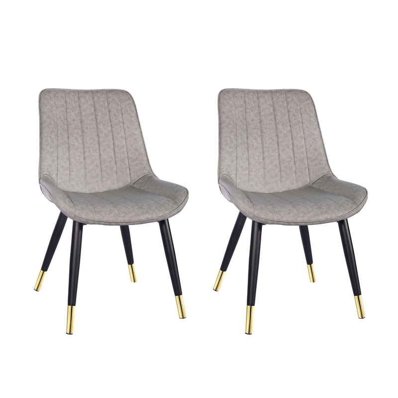 Retro Armless Side Dining Chair (2 pack)