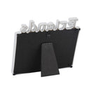 Plastic Cutout Letter Picture Frame 4X6 Sets for Tabletop Display/ Wall Mounting
