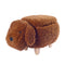 Brown Teddy Kids Storage Ottoman