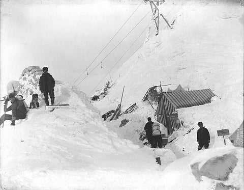 Avalanche safety history