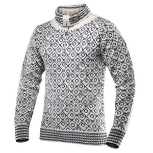 Svalbard Zip-neck Sweater